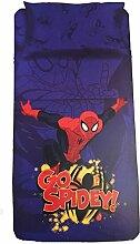 Marvel Spiderman rot Baumwolle Single Bettwäsche-Se