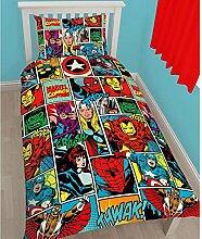Marvel Strike Bettwäsche-Set im Comic-Design,