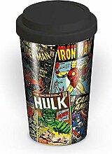 Marvel Travel Mug Retro Comic
