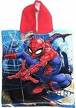 Marvels Spiderman Kapuzen-Poncho-Handtuch, Motiv: