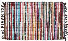 marymarygardens - Baumwolle Flickenteppich 60x