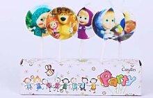 Mascha Und Bär Geburtstag Party Dekoration Kinder