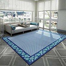 Maschinenwaschbar Teppich Wohnzimmer Stylish Einfache rechteckige Bett Nachttischdecke ( farbe : 2# , größe : 200*240CM )