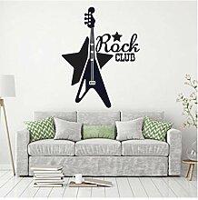 Mashanglaile Rock Club Musik Wandtattoo Musik