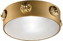 Masiero Spot-Deckenstrahler gold