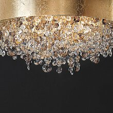 Masiero Stehlampe gold,Handgefertigt in