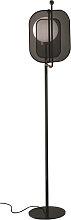 Masiero Stehlampe schwarz,Handgefertigt in