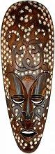 Maske ARIS 50 cm, Holz-Maske aus Bali, Wandmaske,