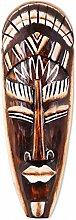 Maske Holzmaske Bali 6 Wanddekoration aus Albesia