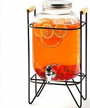 Mason Glas Getränkespender Eisspender mit