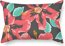 MaSoyy Flower Pillow Shams ,best For Kids,bf,drawing Room,adults,dining Room,floor 20 X 30 Inches / 50 By 75 Cm(2 Sides)