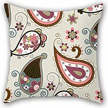 MaSoyy Flower Pillowcase ,best For Girls,son,floor,deck Chair,home Office,office 20 X 20 Inches / 50 By 50 Cm(2 Sides)