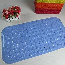 Massage Bad Badematte,Pvc-badematte,Mit Saugnapf WC Matten,Wc-anti-rutsch-matte-E 37x70cm(15x28inch)