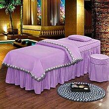 Massage Tischdecke Sets Mit Gesichtsauflage Loch