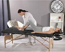 Massageliege klappbar höhenverstellbar 3 Zonen