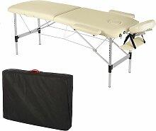Massageliege Profi Massageliege 2 Zonen aus
