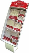 Masse Kauft Papierdeckchen Spitzen-Design Case Of 240