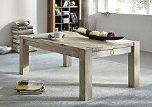 massiv Akazie Holz Möbel Couchtisch 120x70 Massivmöbel Holz Möbel #201 getünch