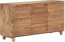 Massiv Mango Holz Sideboard | Loungemöbel | 2