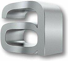 Massive 3D-Design Hausnummer 0 (a)
