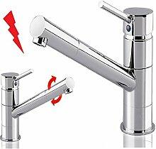 Massive Niederdruck Spültisch Armatur / Wasserhahn für die Küche / Küchen Wasserhahn Spülen Armatur / Küchenarmatur 107