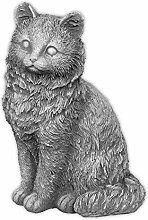 Massive Steinfigur Katze Gartendeko Raumdeko