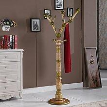 Massivem holz garderobe,Boden einfachen baum form bügel einfach moderne regal schlafzimmer wohnzimmer kleiderbügel-C