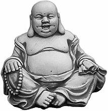 Massiver Stein Buddha lachende Mönch Gartendeko