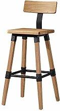 Massivholz Barhocker Stühle Highstool Outdoor