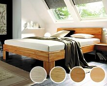 Massivholz-Bett System 1020 120x200 cm / Wildeiche