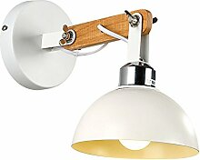 Massivholz Deckel Wandlampe Moderner Minimalismus