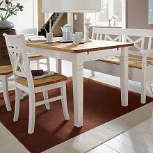 Esstisch rund weiß landhaus  Esstisch Weiß Landhaus günstig online kaufen | LIONSHOME