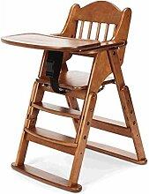 Massivholz-Esstisch und Stühle, tragbare Faltbare