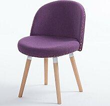Massivholz Esszimmer Stuhl-Kaffee Stuhl Zurück