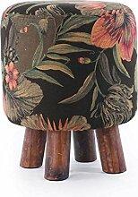 Massivholz-Hocker für Hocker-Hocker Sofa-Hocker Art- und Weisekreativer kleiner Stuhl-Tee-Tabellen-Pier Sofa-Hocker (färben wahlweise freigestellt) ( farbe : #3 )