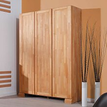 Massivholz-Kleiderschrank aus Buche massiv