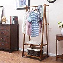 Massivholz Kleiderständer Tragbarer