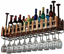 Massivholz-Kopf gestellt Weinglashalter