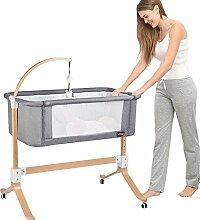 Massivholz-Krippe Multifunktions-Baby Spleißbett