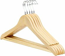 Massivholz Log Kleiderbügel zum Aufhängen Hosen Kleiderbügel Kleiderbügel 10Sticks