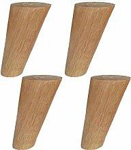 Massivholz MöBel Fuß Couchtisch Sofa Holzbein