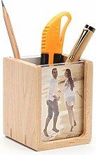 Massivholz multifunktions Stifthalter Handmade