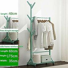 Massivholz Schlafzimmerboden Garderobe