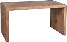Massivholz Schreibtisch aus Akazie natur modern