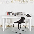 Massivholz Schreibtisch in Weiß Kiefer