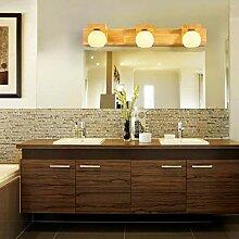 Massivholz Spiegel vorne Licht Einfache und