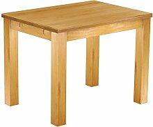 Massivholz Tisch 100x73 - Farbton Honig - Pinien