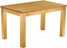 Massivholz Tisch 130x80 - Farbton Honig - Pinien Echtholz- und Massivholzmöbel Kuckuck - durchgehend massive Platten 33 - nachhaltige Forstwirtschaft - geölt und gewachst - Wohnzimmer Esszimmer Küche Büromöbel Büro Gastro Gastronomie Restrauran