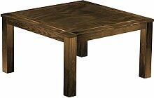 Massivholz Tisch 140x140 - Farbton Eiche antik - Pinien Echtholz- und Massivholzmöbel Kuckuck - durchgehend massive Platten 33 - nachhaltige Forstwirtschaft - geölt und gewachst - Wohnzimmer Esszimmer Küche Büromöbel Büro Gastro Gastronomie Restrauran