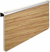 Massivholz Wand-Esstisch, Falttisch Lerntisch,
